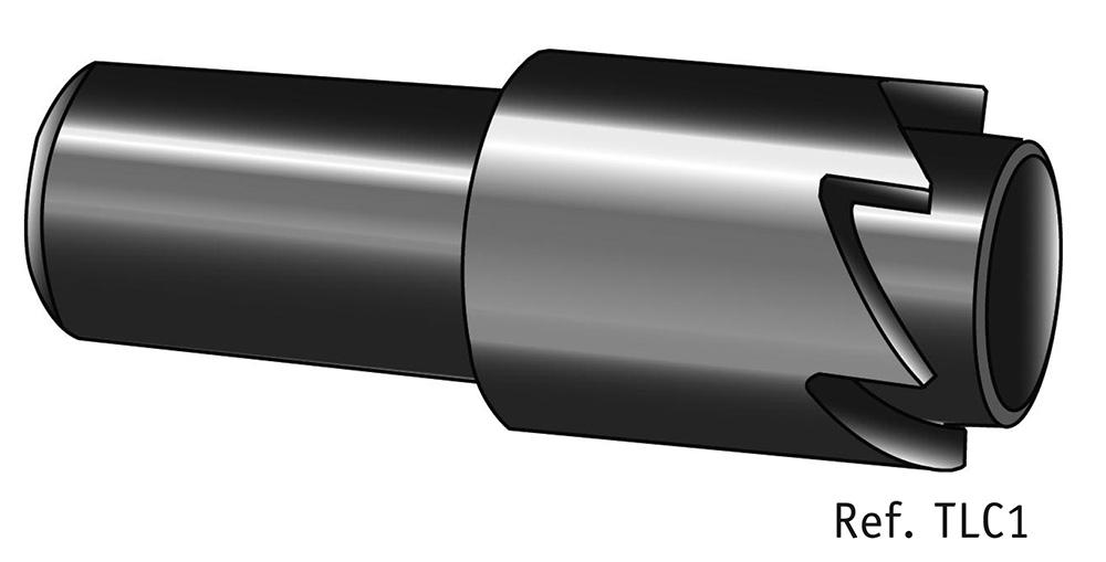 Tubular lock cutter